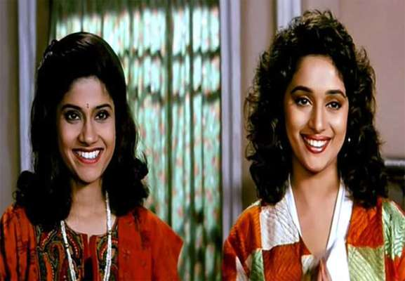 1-bollywood madhuri dixit and renuka shahane to reunite after 23 years for 3 stories