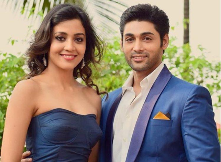 4-balika vadhu actor ruslaan mumtaz gets romantic in a bathtub with wife nirali mehta on her birthday