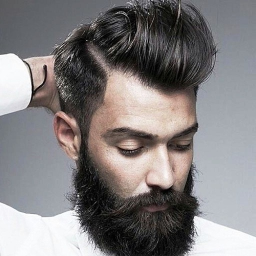 Stylish Mens Hairstyles With Beard 2017 Latest Hairstyles For You for Mens Hairstyle And Beard