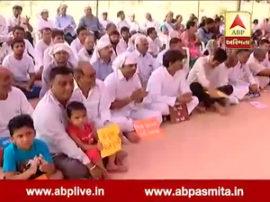 people organised prayer meet for road in gota
