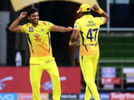 IPL 2018: ચેન્નાઇ સુપર કિંગ્સે રોમાંચક મેચમાં હૈદરાબાદને 4 રને આપી હાર, ચહરની 3 વિકેટ
