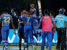 IPL-11: મુંબઇ સામે રાજસ્થાન રોયલ્સની ત્રણ વિકેટે રોમાંચક જીત