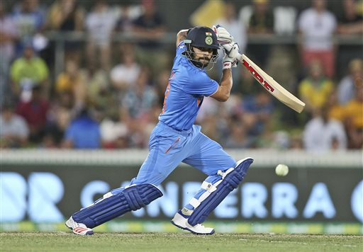 I can't hit big sixes: Virat Kohli