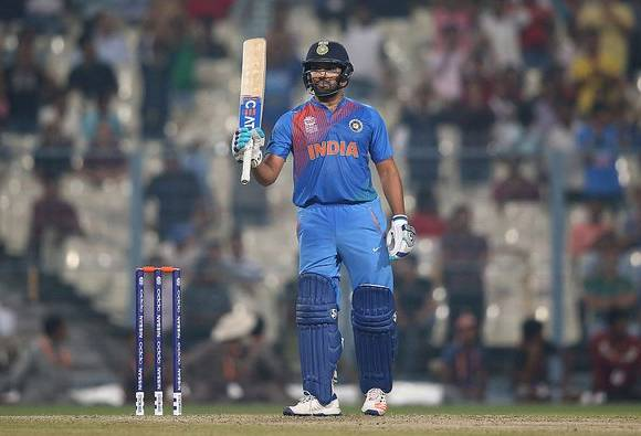 ICC World T20: Rohit Sharma smashes 98 not out against West Indies in warm-up game