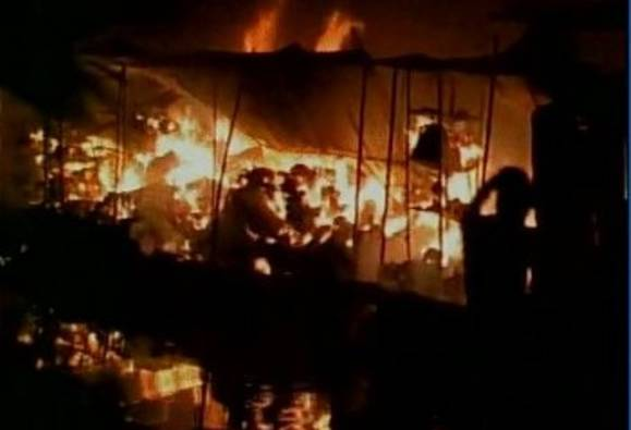 Kanpur: Child killed in massive inferno at Parade Bazaar