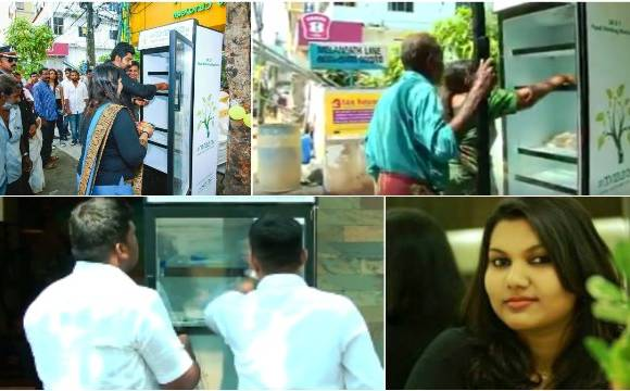 Humanitarian! This restaurant in Kochi installs public fridge where people can leave food for poor