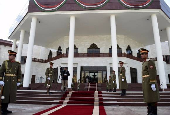 Rockets fired at Afghan parliament