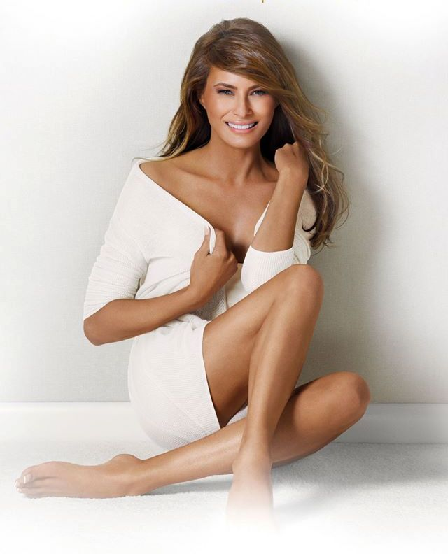 New York Post publishes nude photos of Trumps wife