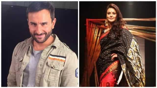 Hit couple Saif Ali Khan, Preity Zinta are back together ...