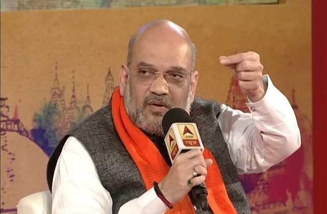 Amit Shah speaks on assembly polls, Ram temple, Rafale deal