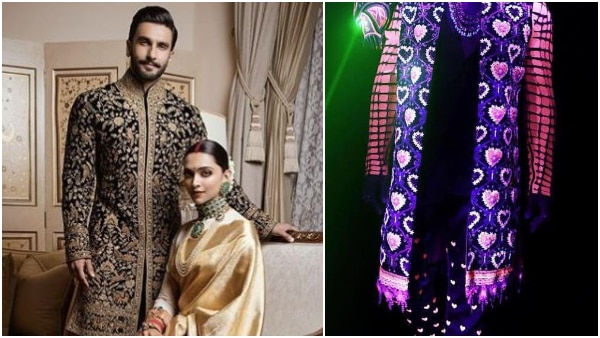 'Kohl-rimmed eyes' and 'Hatke' outift, Ranveer Singh is all geared up for his wedding party (SEE PICS)
