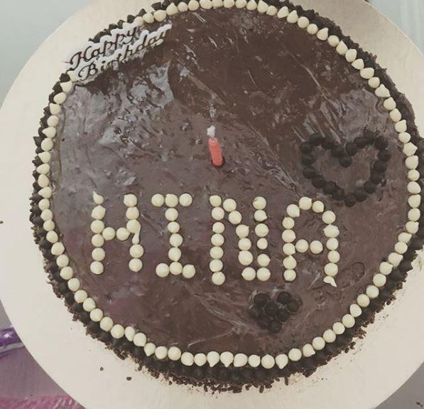 Bigg Boss 11 Hina Khan Celebrates Birthday With Beau Rocky And Co