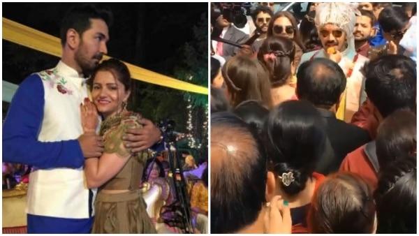 Rubina Dilaik wedding: Groom Abhinav Shukla arrives with