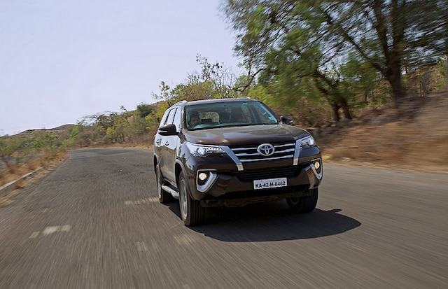 Toyota Fortuner, Ford Endeavour Top Segment Sales In