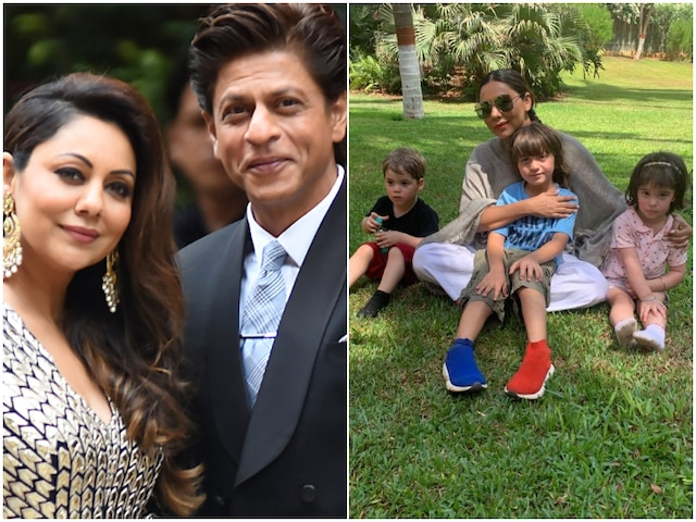 PIC- Gauri Khan spends her Sunday with three musketeers