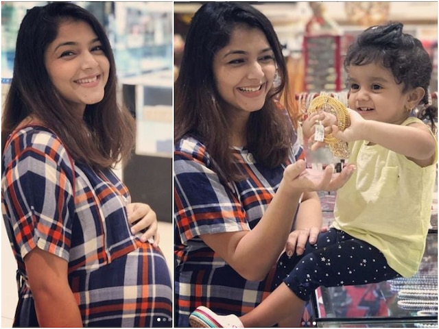 Diya Aur Baati Hum actress Pooja Sharma flaunts baby bump