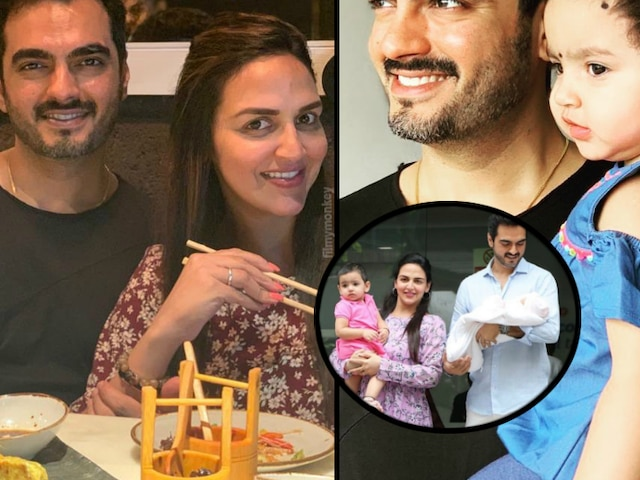 Esha Deol & Bharat Takhtani's first lunch outing a month