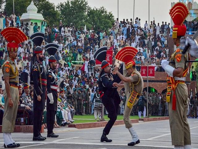 Independence Day 2019: Beating Retreat Celebrated At Attari