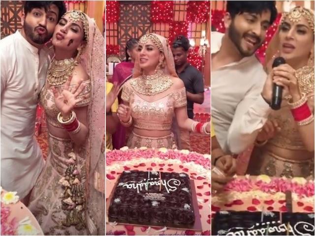 PICS & VIDEOS: TV Actress Shraddha Arya Celebrates Her