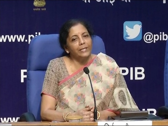 Finance Minister Nirmala Sitaraman Press conference on Indian Economy condition