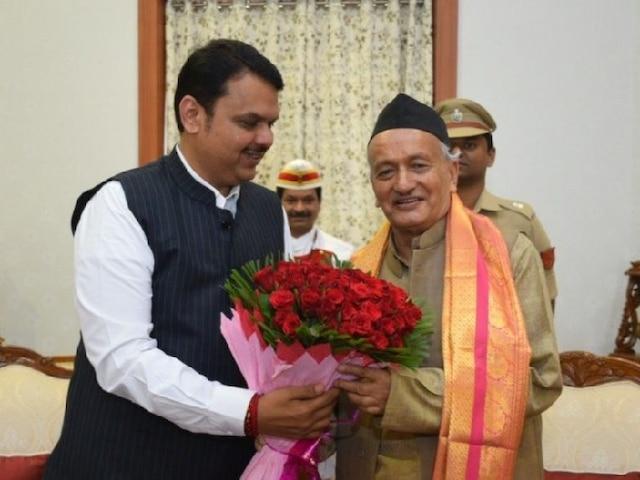 Image result for bjp na meet maharastra rajyapal