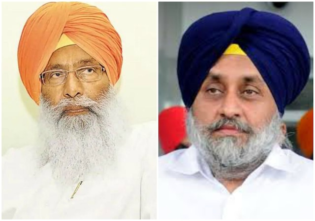 Image result for dhindsa and sukhbir badal