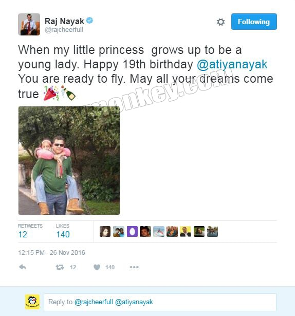 Bigg Boss 10: Colors CEO Raj Nayak's 19 year old daughter