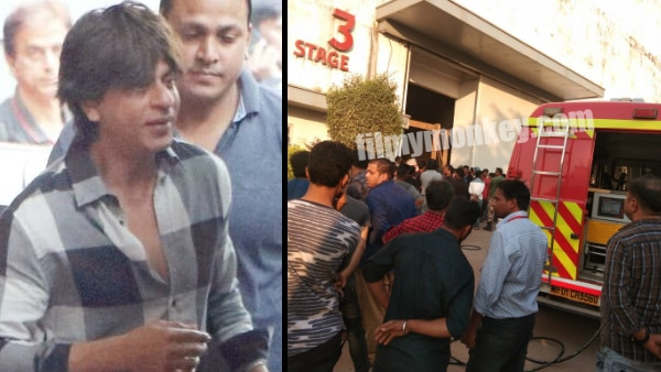 Zero: Fire on the sets of the film while Shah Rukh Khan was shooting; Police surrounds the area!