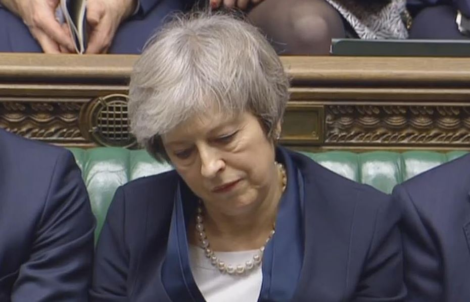 બ્રિટનની સંસદે નકારી બ્રેક્સિટ ડીલ, PM થેરેસા મેએ આપવું પડી શકે છે રાજીનામું